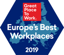 Talan Great place to work 2019 Regional Best Europe